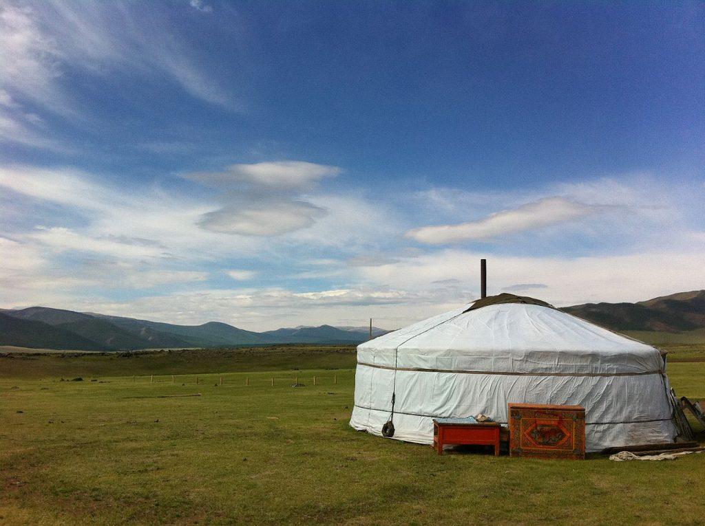 Tente yourte mongole